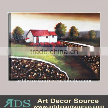 Three-dimensional Unframed Oil Painting