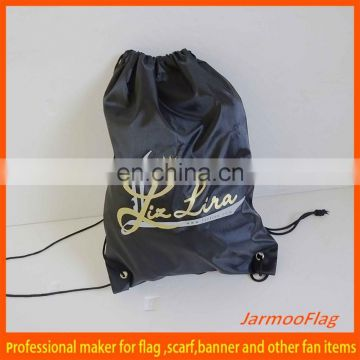 customized promotion jute drawstring bags