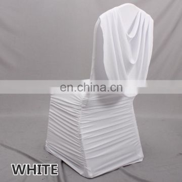 Gorgeous spandex ruffled chair cover with swag factory price ...  sc 1 st  find quality and cheap products on China.cn & Gorgeous spandex ruffled chair cover with swag factory price of ...