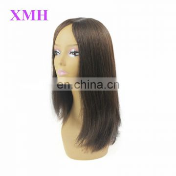 Top Grade Silk Top Virgin European human Hair Kosher Jewish Wig