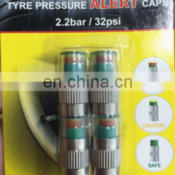 2.0/2.2/2.4 Bar Car Tire Pressure Monitor Valve Stem Caps