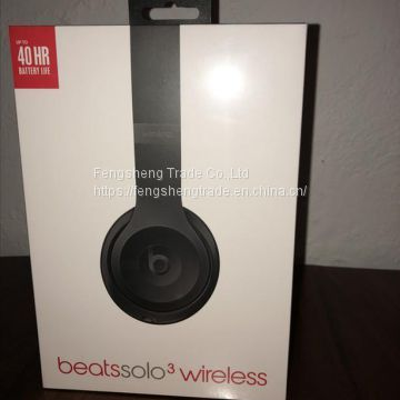 Beats by Dr. Dre Brand New Solo3 Wireless Headphones Matt Black