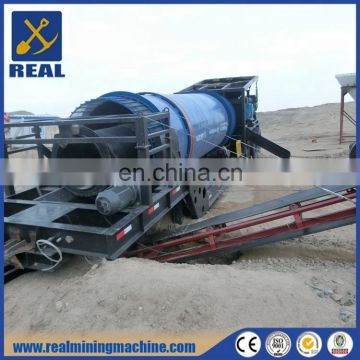 Portable gold trommel for sale alibaba