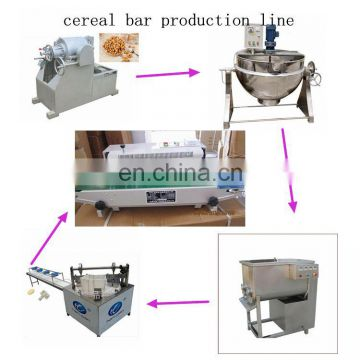 factory price popcorn ball making machine peanut cereal bar cutting forming machine