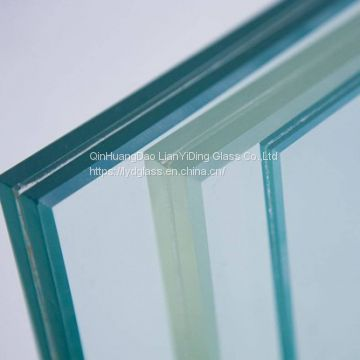 6.38mm laminated glass