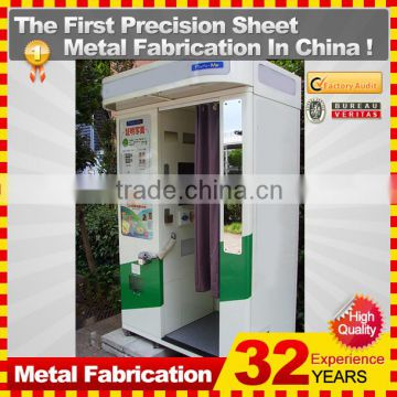 custom made metal cheap photo booth kiosk for sale