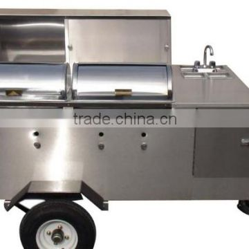 Scooter Trailer Mobile Food Vending Trailer With Commercial Griddle