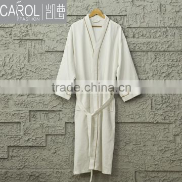 100%cotton bathrobe for 5 star hotel