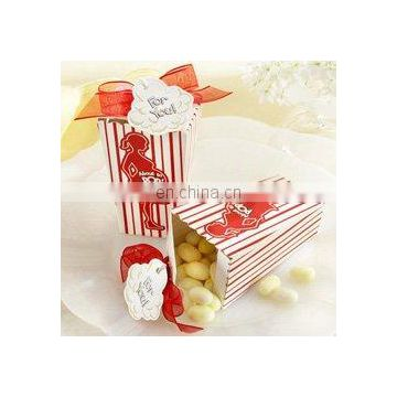 """About to Pop"" Popcorn Favor Boxes"