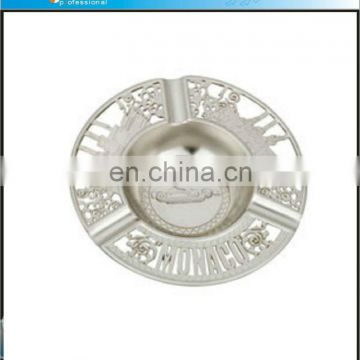 Exquisite souvenirs gift silver portable ashtray
