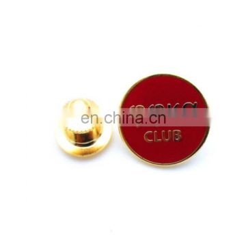 Lapel Pin Imitation Cloisonne Gold Plated pin badge brooch