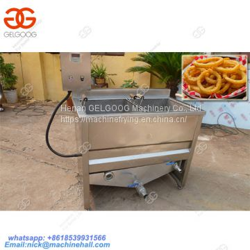 Best 2 Tanks French Fries Frying Machine/Hot Sale Double Basket French Fries Fryer Machine/French Fries Frying Machine