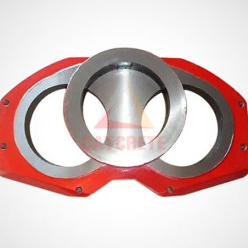 Concrete Pump Parts Putzmeister Spectacle Wear Plate and Wear Ring Cutting Ring U229488005