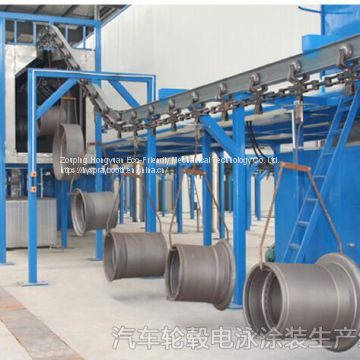 manually electrostatic Powder Coating Spray Line for sale