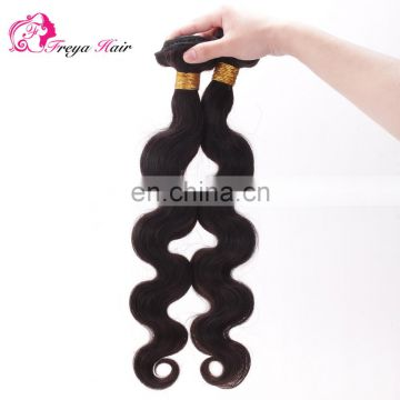 Factory Stock Wholesale Virgin Brazilian Sew In Human Hair Extensions
