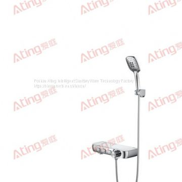 FOSHAN CHINA Ating shower sets AT-HJ003 plus bracket aluminum alloy body 3 function in wall