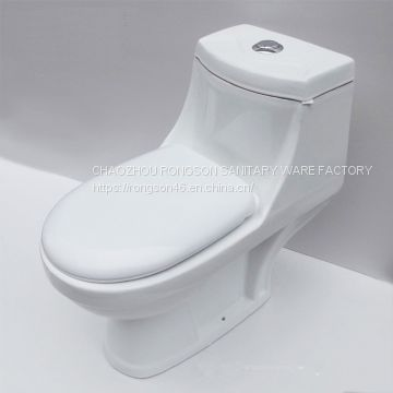 bathroom chaozhou sanitary ware ceramic s tap washdown cheap price one piece toilet for home hotel used