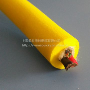 2 Layer Total Shielding Cable Wire Weather Resistance
