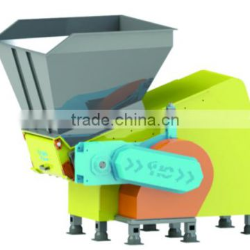 Heavy Duty waste plastic crusher single shaft shredder