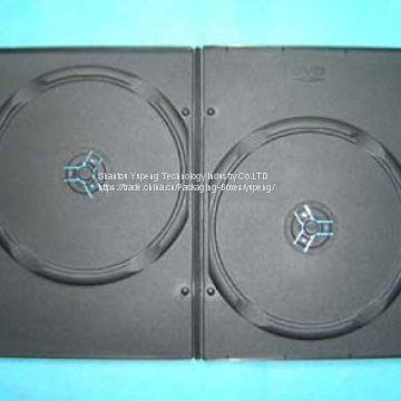 double DVD case double DVD box double DVD cover 7mm black