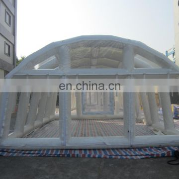 2016 Outdoor white swimming pool tents for sale/ inflatable tent price for sale