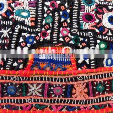 Embroidered Women's COIN CLUTCH - Vintage Multi Color coin clutch- Gypsy Banjara Hand Bag