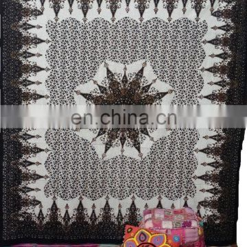 Black Indian Mandala Tapestry Indian Wall Hanging from india wholesale lot