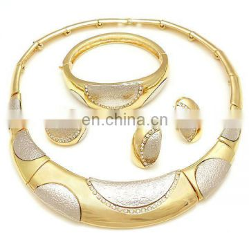 African noble jewelries 18k gold plating set