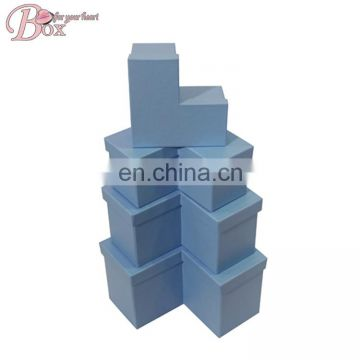 HIgh Quality Paper Irregular Storage Box with Lid
