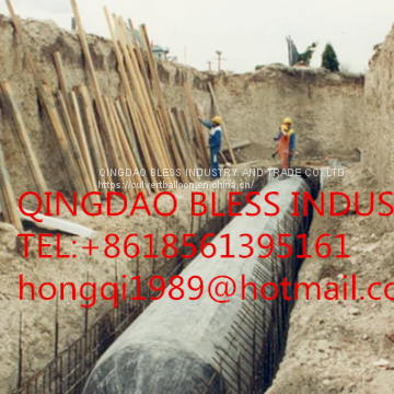 rectangle pneumatic tubular formwork for box culvert casting in-situ,beam construction, pipe constructioninflatable forms used for precast products, bridge beams, precast panels, bridge elements