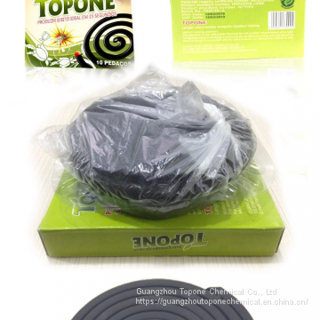 High Effective 138mm Black mosquito coil with 12hours