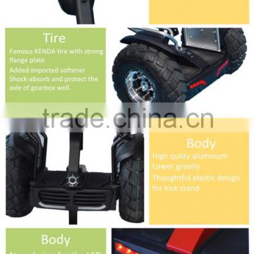 Off-road electric scooter 2 wheel standing adult smart self balancing ,electric snow scooter