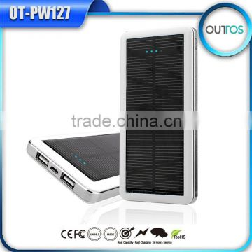 New Items in China Market External Power Bank Solar Panel Charger