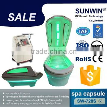 Latest oxygen spa capsule with whole sale price SW-728S