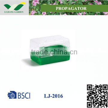 Indoor Rectangle Plastic Planter Trays For Cutting Plant Propagation