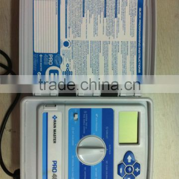 farm irrigation equipment with solenoid valve timer