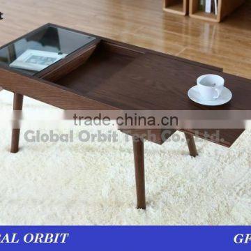 High Quality Modern Living Room Furniture Wooden Tea Table Design Of
