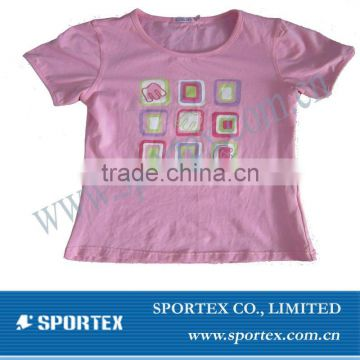 2012 fashion girl's shirts
