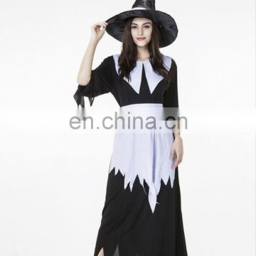 2017 Latest Irregular Long Witch Costume, Adult Halloween Costume,Cosplay Clothes