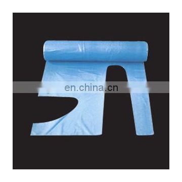 LDPE HDPE Plastic Apron/Polyethylene Apron packed in roll