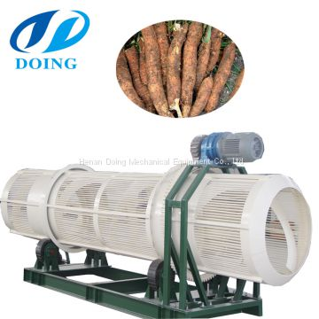 Large capacity top quality cassava cage cleaning machine