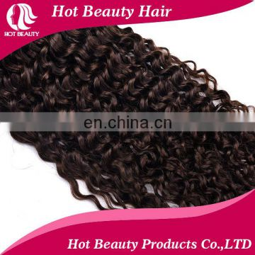 100% unprocessed no shedding & no tangle natural Brazillian human hair extension kinky curly
