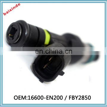 16600-EN200 / FBY2850 Fuel Injector For NissanS 07-12 Sentra NV 2.0L Versa Cube 1.8