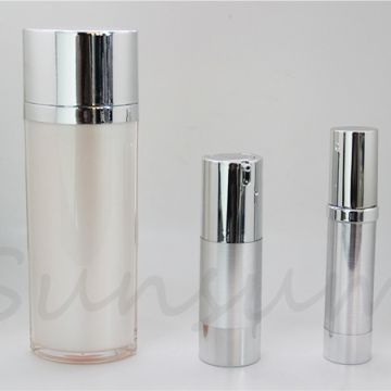 Cosmetic Airless Vacuum Pump Lotion Care Matte Bottle
