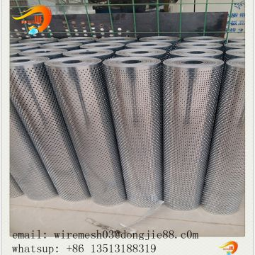 low price round hole perforated metal sheet fabrication