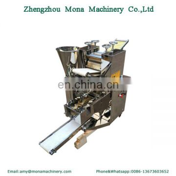 Automatic gyoza filling machine/Chinese Jiaozi dumpling maker pressing machine