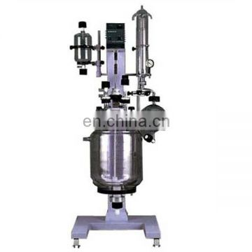 RV-620-3 vacuum jacketed double glass reactor