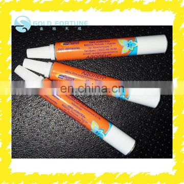 Customized laminated plastic tube and aluminum tube food grade packaging