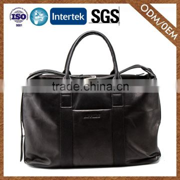 Wholesale Oem Cowhide Briefcase Bag Excellent Quality Men Genunie Leather Briefcase Travel Bag