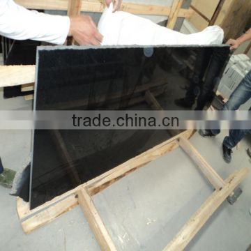 High Quality Absolute Black Granite, Polished Chinese Black Granite Countertop